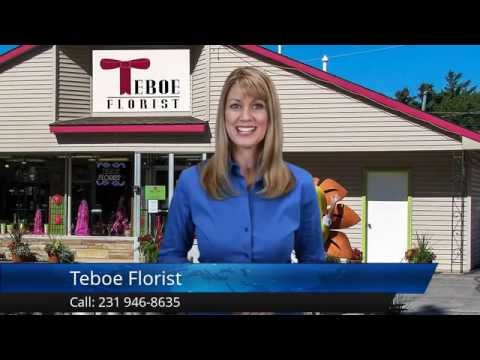 Teboe Florist Traverse City Excellent 5 Star Review by Barbara M.