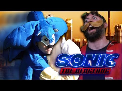 IS THIS THE WORST VIDEO WE'VE EVER MADE? | Sonic The Hedgehog Parody Trailer...