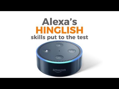 Amazon has taught Alexa to speak Hinglish - YouTube