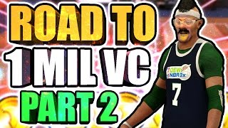 ROAD TO 1 MILLION VC AT THE STAGE • NEW BEST CUSTOM JUMPSHOT 💦 + MORE HALFCOURT GREENLIGHTS Ep.#2