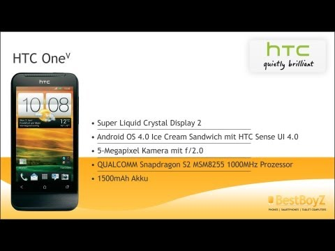 Review: HTC One V | BestBoyZ