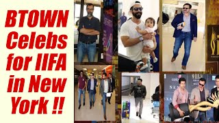Saif Ali Khan, Shahid And Others Spotted At New York Airport For Iifa; Watch Vid