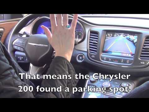 The Chrysler 200 Parallel Parks Itself