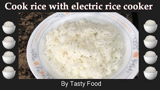 How to cook perfect rice using electric rice cooker