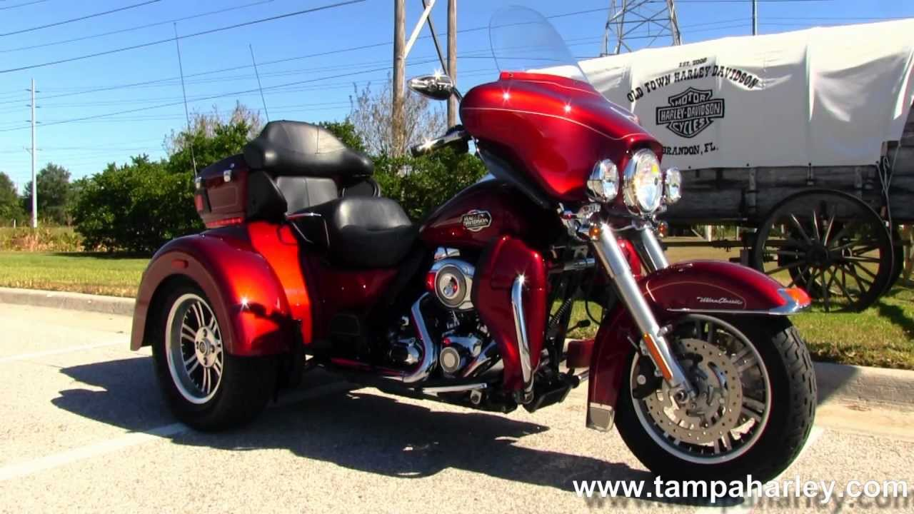 Harley Davidson Tri Glide Ultra Motorcycles For Sale In: Used 2009 Harley-Davidson Trike Tri Glide Ultra Classic