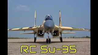 RC Plane Su-35 / радиоуправляемый самолет Су-35 (Хороль)