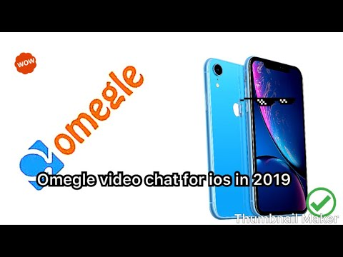 How To Get Omegle Video Chat For IOS In 2019 !!
