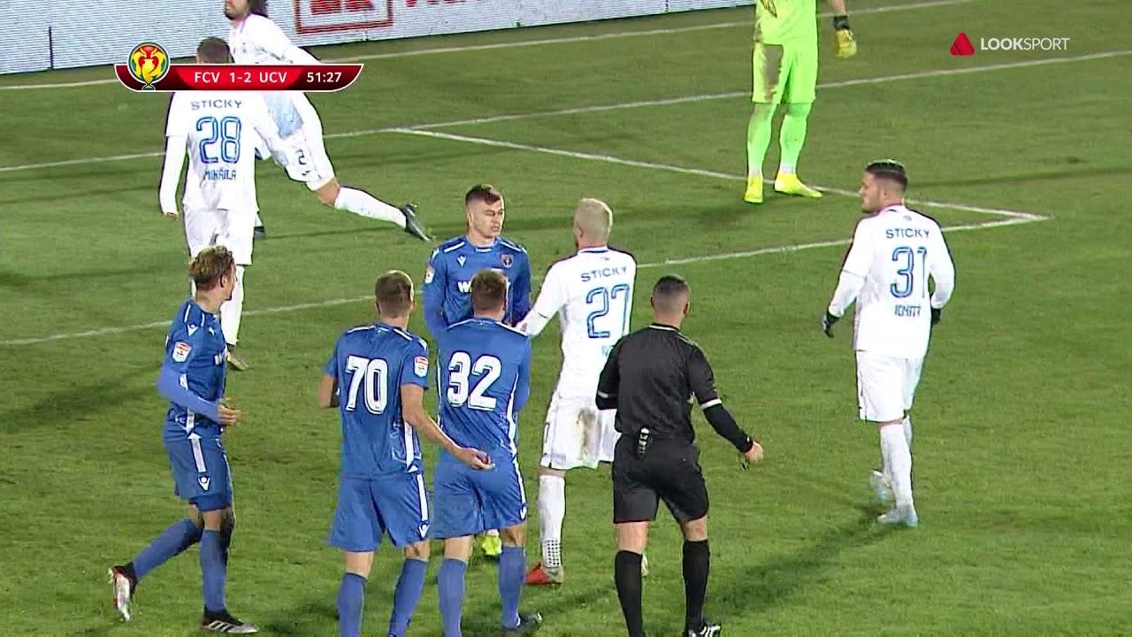 Rezumat: Voluntari - U Craiova 1-4 Cupa Romaniei Optimi