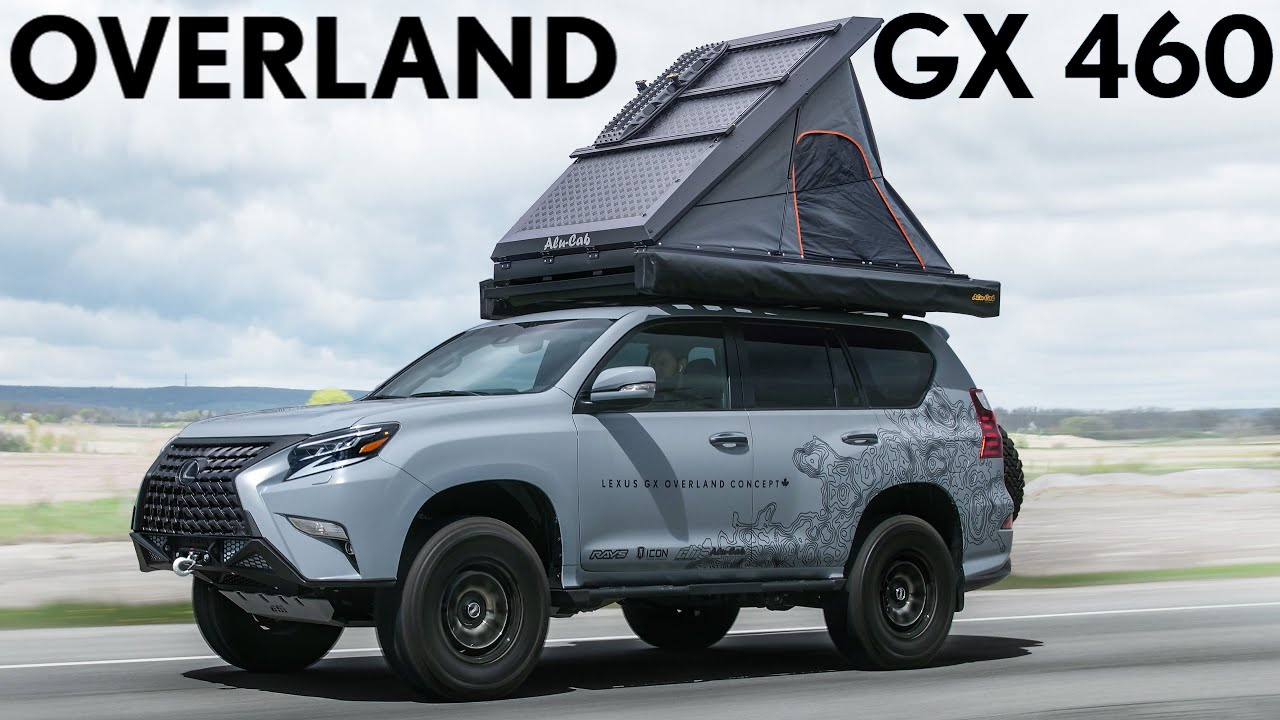 OVERLAND! Lexus GX460 Overland Concept Review