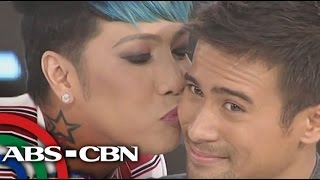 GGV: Vice, Anne goes daring on a 'kissing' challenge