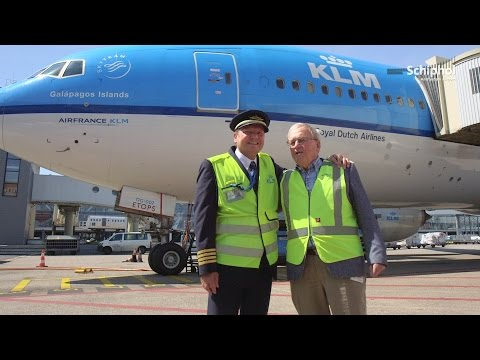 Father becomes marshaller at son's last flight