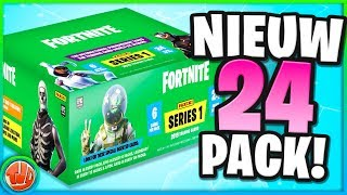 EXTREMELY Rare map FOUND!! 24x Fortnite Trading Cards UNBOXES!!