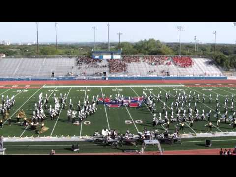 San Antonio Clark High School Band- 2015 Westlake 6A Marching Contest