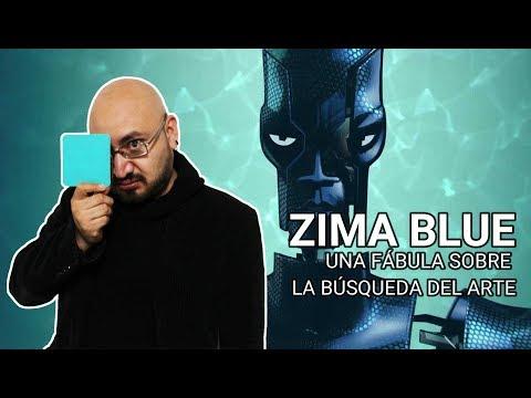 ZIMA BLUE. Una fábula sobre la búsqueda del arte