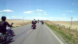 Tarahumara Bikers en La junta Chihuahua