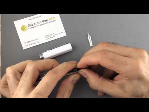 18k nib for TWSBI Eco fountain pen.