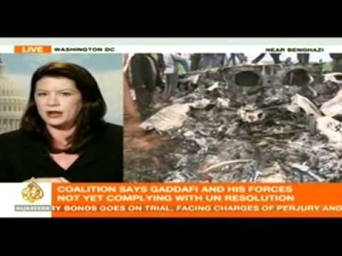 Fighter Jet Crashed In Libya.flv