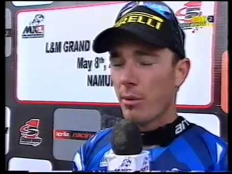2005 Namur Motocross GP - Andrew McFarlane wins MX2 Class