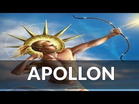 Apollon Yunan Mitolojisi Güneş Tanrısı
