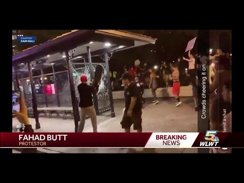 Ohio protests over George Floyd's death turn destructive