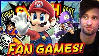 WEIRD Super Smash Bros. FAN-GAMES #2 !  - SpaceHamster