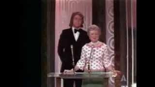 Franklin J. Schaffner winning the Oscar® for Directing