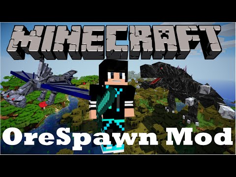 Minecraft Mods Como Baixar e Instalar o (OreSpawn Mod)