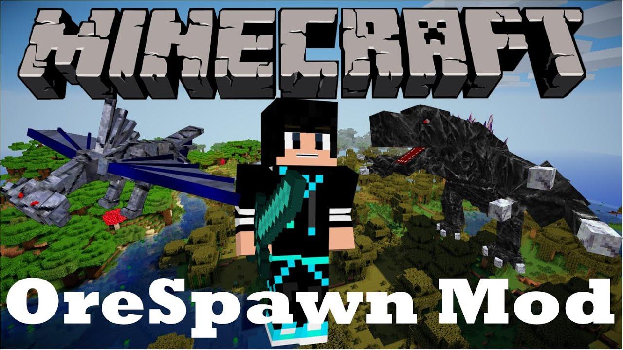 Minecraft Mod Orespawn 1 8 Balabong
