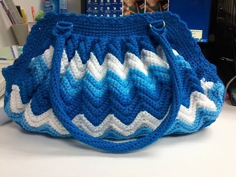 1671fb067db6 Latest Crochet Ladies Purse Bag Designs - YouTube