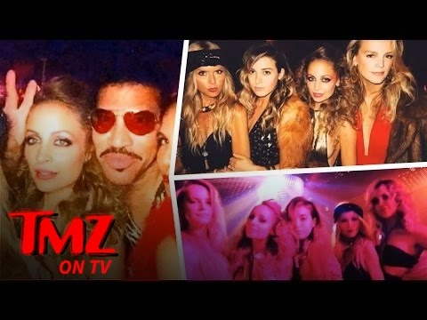 "Nicole Richie Parties ""All Night Long"" for 35th Birthday (TMZ TV)"