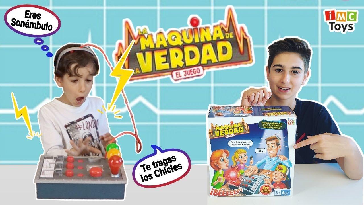 La Máquina De La Verdad Challenge Reto De Preguntas Incomodas Con El Detector De Mentiras Youtube