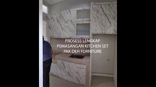 Hasil Jasa Pembuatan Kitchen Set Bogor