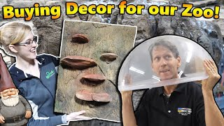 We Tour Universal Rocks to Build our Zoo!