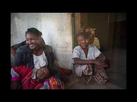 Portrait de Roselyne, 5 ans, CP  | Association Azé, Tuléar, Madagascar