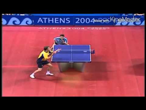 Table Tennis Olympic 2004 Jan-Ove Waldner
