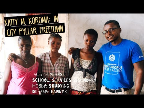 Katty M. Korom: In City Pyllar Freetown || Youth Development Sierra Leone | Case Study 14