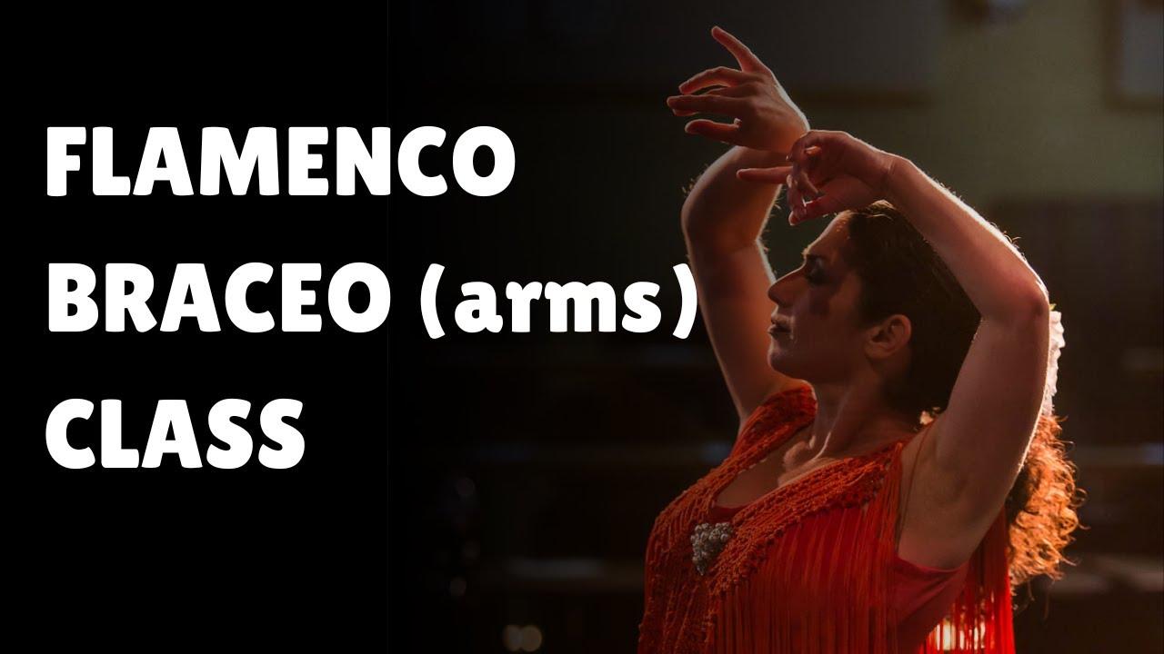 Flamenco Dance Basics   Brazeo (Arms Placement)