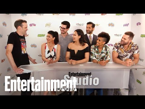 Syfy's 'The Expanse' Cast Teases Betrayal In Season 3 & Much More | SDCC 2017 | Entertainment Weekly