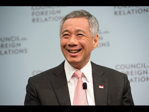 Singapore Prime Minister Lee Backs Trans Pacific Partnership and Stronger U.S. Ties