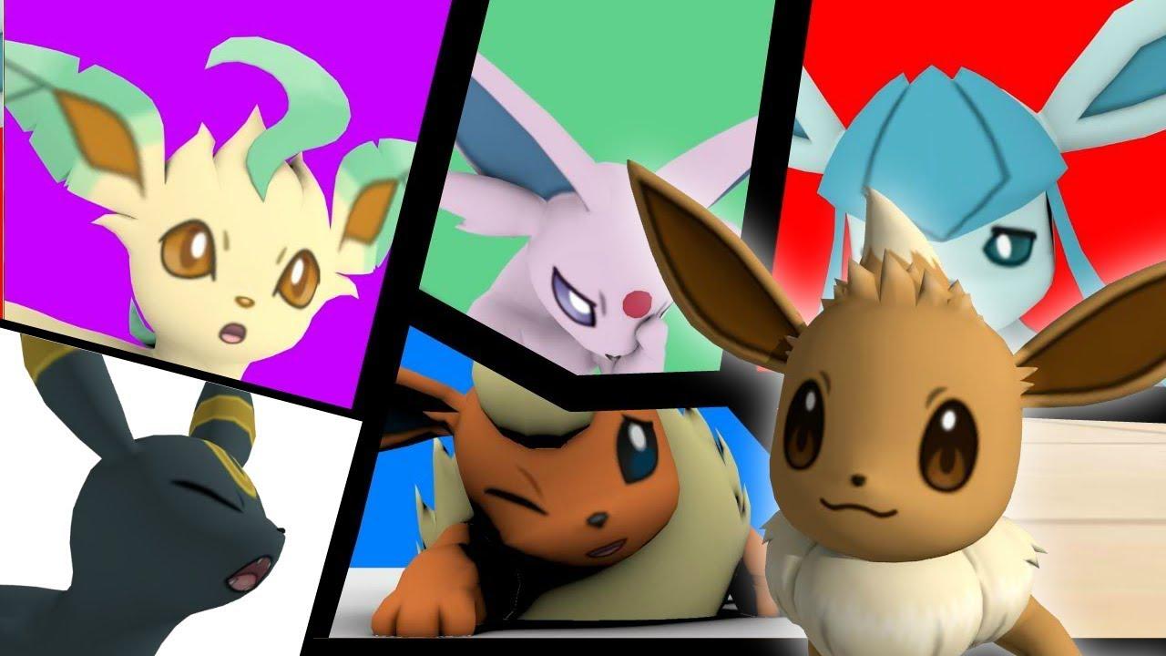 eevee family Pokemon