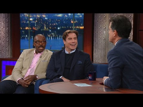 John Travolta & Courtney B. Vance Talk 'The People vs. O.J. Simpson'