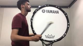 University of Minnesota Drumline Bass Drum Audition