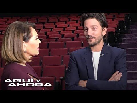 """""""Hoy tengo la libertad de hacer los proyectos que yo quiero"""": Diego Luna conversa con María Elena Sa"""