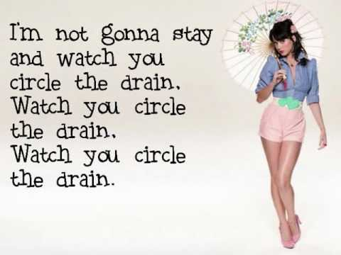 Katy Perry - Circle The Drain - Lyrics & Download Link