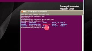 Linux Ubuntu terminal adımından dizinleri oluşturmak Veya Öğretici Adım format komutunu Kullanma