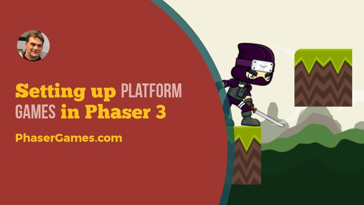 Setting up plaforms games in Phaser 3