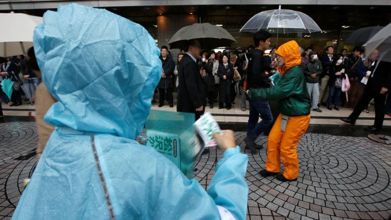 Japan braces for monster typhoon bearing down on Tokyo area