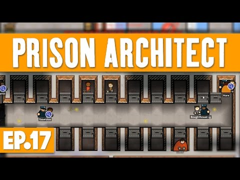Prison Architect - ISSUES OF SOLITARY CONFINEMENT! #17