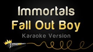 "Fall Out Boy - Immortals - From ""Big Hero 6"" (Karaoke Version)"
