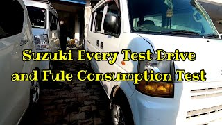 Suzuki Every Pa Test Drive Interior View and File Consumption Test | Suzuki Every Pa...